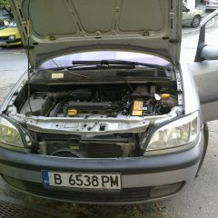 Opel Zafira 1.6-16v 2002г